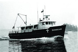Sunbeam IV in its heyday