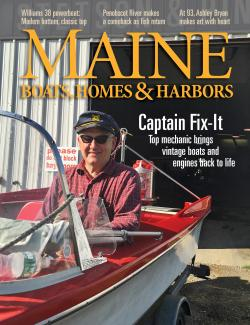 Maine Boats, Homes & Harbors, Issue 143