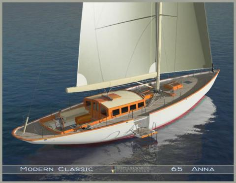 Lyman-Morse to Build 65' Custom Cold-Molded Yacht
