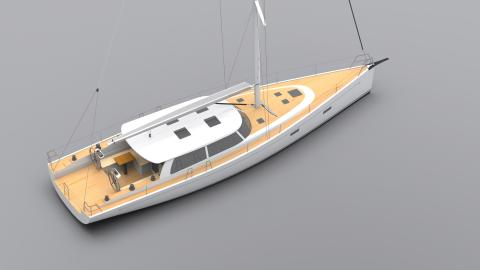 Two Maine boatbuilders will build a custom cruising yacht