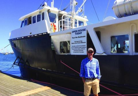 From Street Shipyard chosen for refit of Maine Seacoast Mission's Sunbeam V