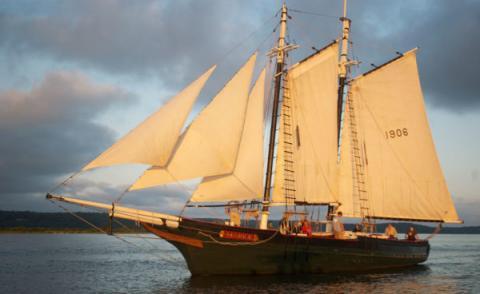 Historic Maine-Built Schooner Comes Home