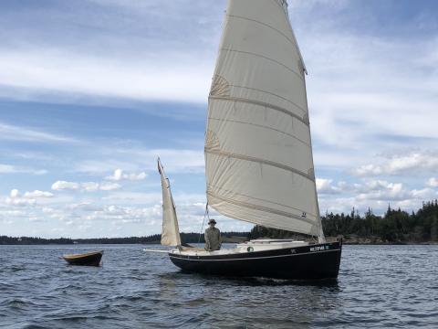 A sailor and his pocket cruiser