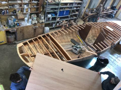 Boatyards trying to keep working on spring launches