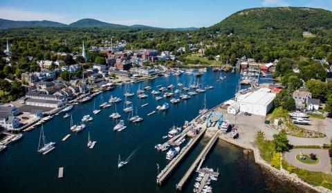 Grants will fund dock improvements at two Maine marinas