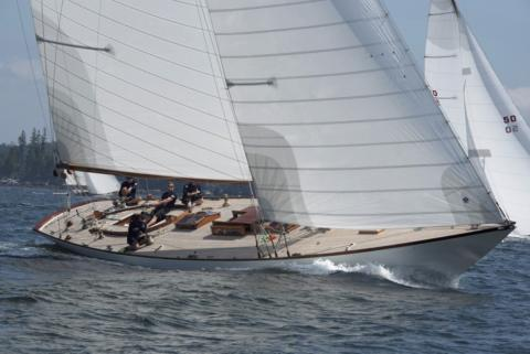 Marilee takes Castine Classic Race