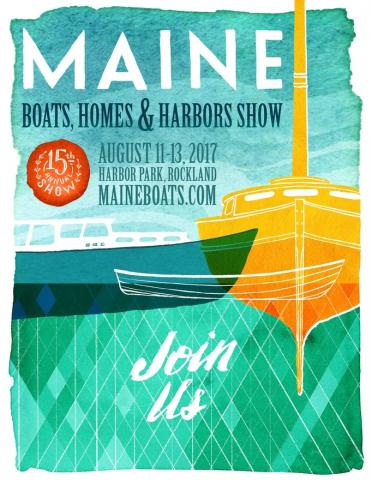 New Poster for MBH&H Boat and Home Show in Rockland