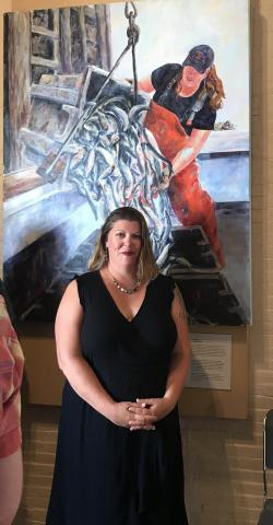 Museum exhibit showcases women who lobster