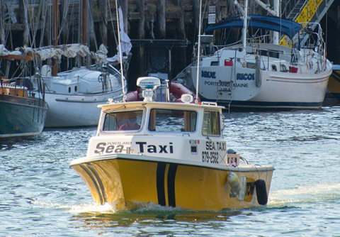 New Casco Bay water taxi launched