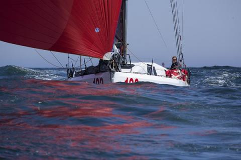 Hi-tech racing yachts to race off Portland this week