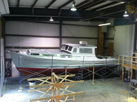 Lots going on at Atlantic Boat