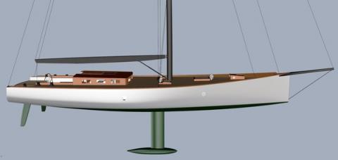 Brooklin Boat to build 22-meter sloop