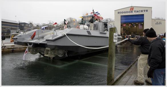 Just Launched - Mako - Hodgdon Yachts, Patrol Craft MK V.1 ...