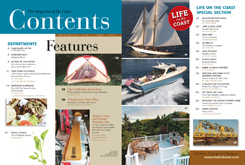 Maine Boats, Homes and Harbors Issue 123