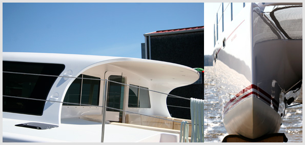 Catamaran hull shape