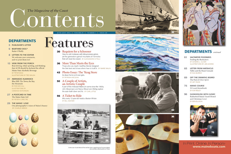 Maine Boats, Homes and Harbors Issue 120