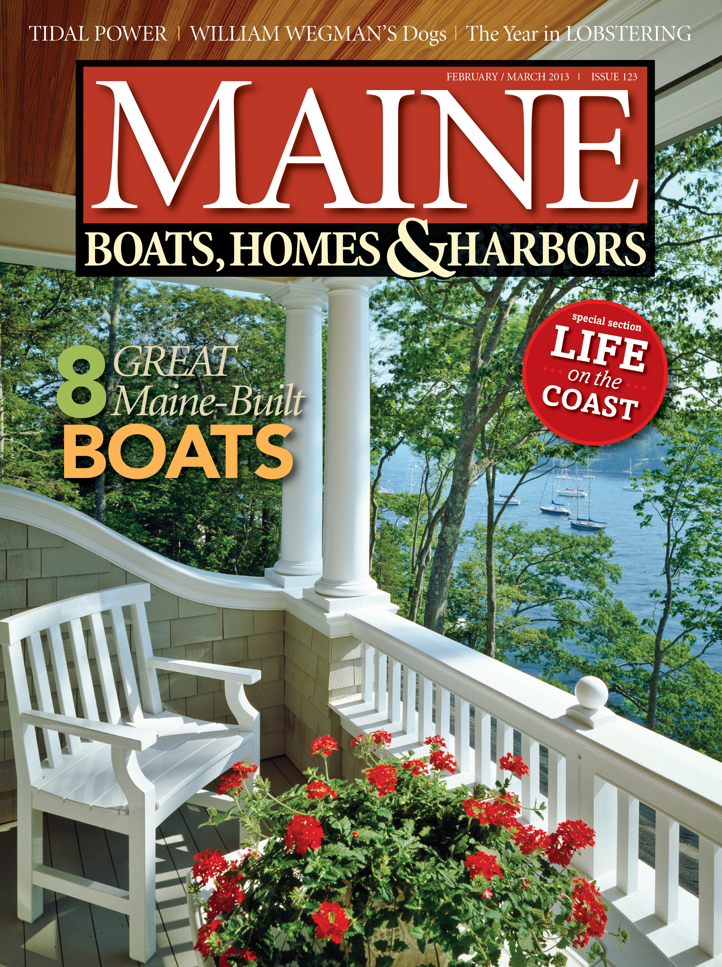 Maine Boats, Homes & Harbors, Issue 123