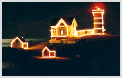 Lighting of the Nubble